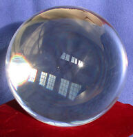 BUTW 100 mm Crystal Ball Wicca Gazing Scrying Reiki with crystal Stand 1812
