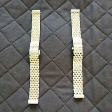MICHELE Watch Bands New Old Stock | Lot of 2 | Titanium Watch Bands for CSX