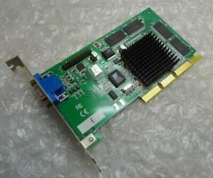 Genuine 32MB Dell 04C864 4C864 AGP VGA Graphics Card Unit / GPU