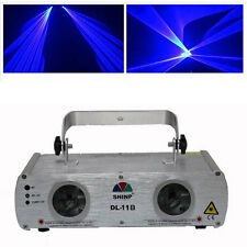 US-Shinp 250mW + 250mW Blue + Blue Laser Stage Lighting Light Disco Party KTV DJ