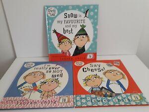 Charlie And Lola Bundle Of Three Books Hardcover.