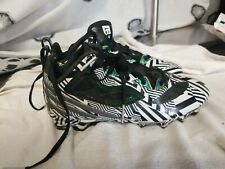 adidas cleats youth 3.5, 3 1/2 quick frame white black