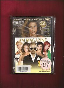 RIVISTA FM MAGAZINE + DVD ROBERTA GEMMA NUOVO SIGILLATO (NEW SEALED)
