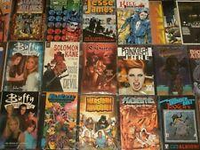 Graphic Novels Tpb Variation: Image, Idw, Dark Horse, Horror, Superheroes, Buffy