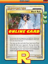 2x Black Belt - for Pokemon TCG Online ( DIGITAL ptcgo in Game Card)