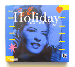 "Cd  Billie Holiday ""Best of 1935-1948""  2CD NM Body&Soul 1999"