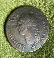 France Sol 1791 B - Copper - Louis XVI