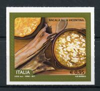 Italy 2017 MNH Bacala alla Vicentina 1v S/A Set Fish Gastronomy Stamps