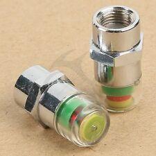 Visible Car Safety Warning Air Pressure Tire Monitor Indicator Valve Cap 3.0 Bar