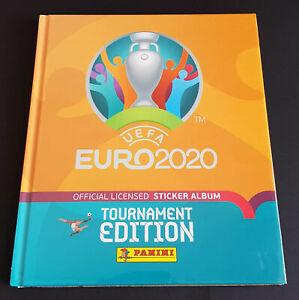 Panini EURO 2020 Tournament Edition Orange Limitiertes Hardcover Album Mexico
