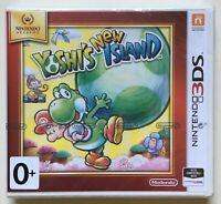 Yoshi's New Island (Nintendo 3DS) Factory Sealed Nintendo-Strip Very Rare NEW