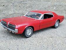 Sun Star 1967 Mercury Cougar XR7 1:18 Scale Diecast '67 Model Car Red
