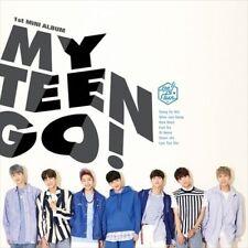 My TEEN - [myteen GO!] 1st Mini Debut Album cd+1p Photo Card K-POP Sealed Pop