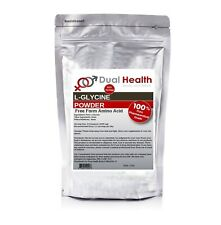 Pure L-Glycine (2 lbs) Powder Pharmaceutical Grade Muscle Recovery Weightlifting