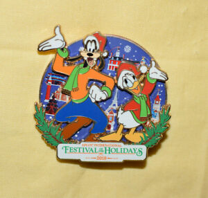 Disney Pin 137517 WDW EPCOT Festival of the Holidays Holiday 2019 - DVC LE 2000