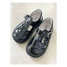 Stride Rite Beatrix 8.5 M Patent Leather Mary Jane Walking Shoes Shiny Black