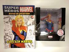 captain marvel  Marvel buste de collection  + fascicule neuf
