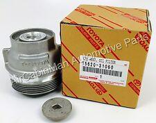 NEW GENUINE TOYOTA  Oil Filter Housing Cap  Holder 15620-31060 and CAP PLUG