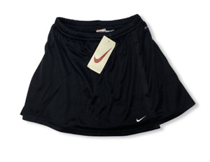 Nike 90s Tennis Sports Skirt Black - L (UK12-14)