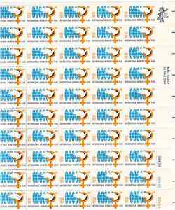 Scott #1571...10 Cent...International.Women's Year...Sheet of 50 Stamps