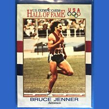 BRUCE (nka CAITLYN) JENNER, 1991 Impel, US Olympic Card, #33, USA Hall of Fame