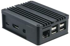 Aluminium Case for Raspberry Pi, Black - AKASA