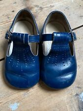 Vintage Clarks Navy Baby Shoes Size 5 Prince George