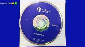 Microsoft® Office 2013 Professional Format DVD uniquement
