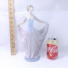 "Lladro ""The Dancer"" Porcelain Figurine Woman w/ Long dress & Tiara #5050"