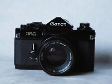 Canon F-1 with 50mm f1.4   (first version of F-1)
