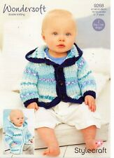Stylecraft  9268- Baby & Childrens KNITTING PATTERN - not the finished items