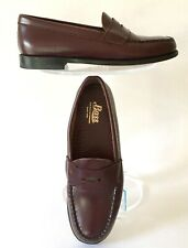 0183aaf786d Bass Weejuns Penny Loafers 6.5 M 6-1 2 B Waylon Wine Excellent Original