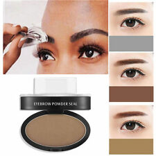 Natural Eyebrow Powder Makeup Brow Stamp Palette Delicated Shadow Definition L7S