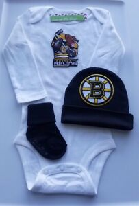 Bruins baby/newborn clothes  Bruins baby gift boston hockey baby clothes