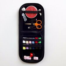 Travel Home Sewing Kit Case Needles Box Thread Tape Scissor Set Button Wallet UK