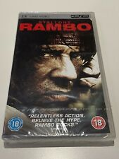 Rambo New UMD PSP UK Release Region ALL FREE SHIPPING WORLDWIDE!