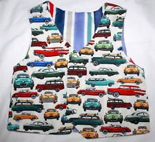 Handsome bubs car themed baby boy vest size 1 USED