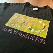 Vintage 1991 The Psychedelic Furs T-Shirt Single Stitch Hanes Tag Size XL