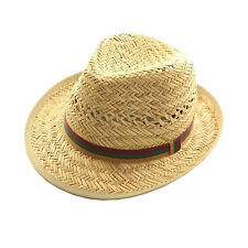 Straw Fedora/Trilby Hats for Women
