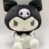 kuromi tiddy goth 10'' Stuffed plush toy Anime Cartoon game super soft new doll