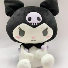 kuromi tiddy goth 10'' Stuffed plush toy Anime Cartoon game super soft new doll