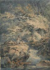 Angler, 1794, J.M.W. TURNER, English Romanticism Art Poster