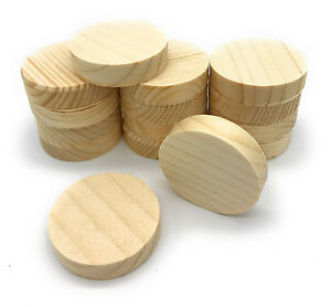 Querholzplättchen Fichte 40 mm Durchmesser Konusplättchen 15 stk. Holzplättchen