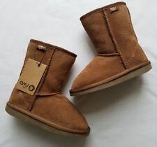 EMU Wool Girls  Kids Bronte Lo 2 Boots Chestnut Size 13 NEW