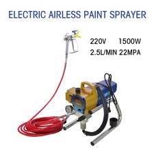 Neu 1500W Airlessgerät Airless Farbsprühgerät Farbspritzgerät Spritzgerät H680