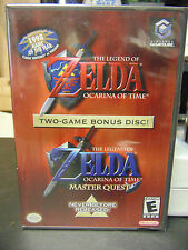 Zelda: Ocarina of Time & Master Quest (Nintendo GameCube, 2003) NEW SEALED!