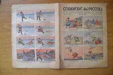 CORRIERE DEI PICCOLI 25 LUGLIO 1909 ANNO I num 31 giornale SUBALPINA