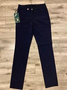 NWT Chervo STATUS Ladies Golf Pants 63946 599 Navy Sz 6 NEW