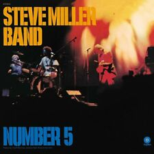 STEVE BAND MILLER - NUMBER 5 (LP)   VINYL LP NEW!