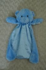 Baby Gund Huggybuddy Teddy Bear Blue Lovey Security Blanket 058889